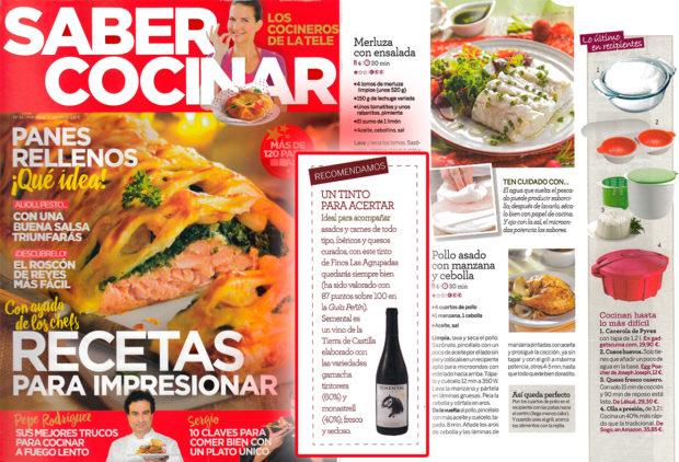 Saber Cocinar de TVE recomienda nuestro vino Semental