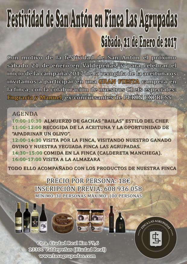 Festividad de San Antón en Finca las Agrupadas